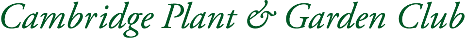 Cambridge Plant and Garden Club Logo