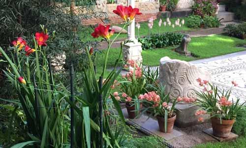Gardner Museum Visiting Gardens
